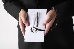 不祝儀袋(ぶしゅうぎぶくろ)の選び方と香典の目安 イメージ